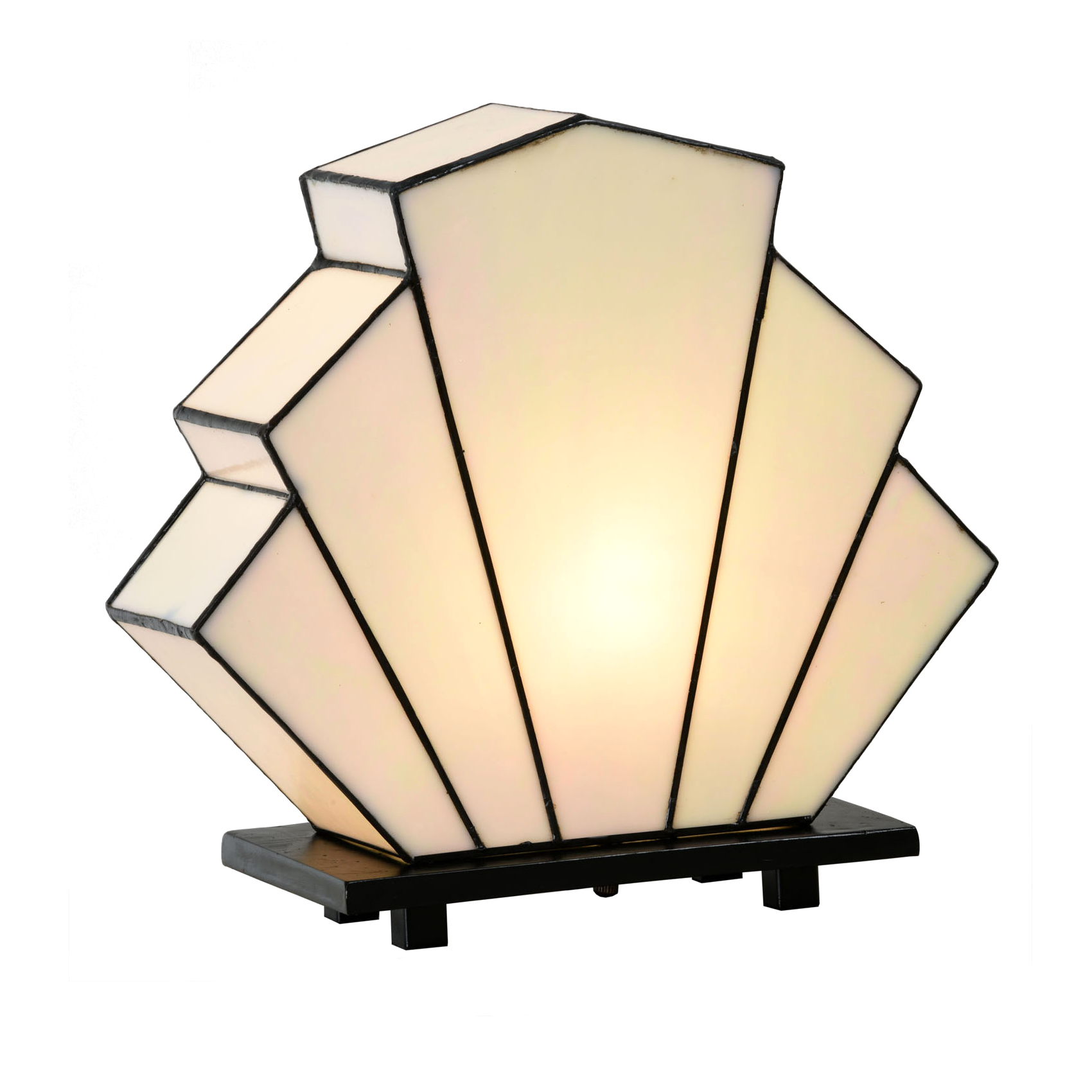 French Art Deco Tiffany Tischlampe