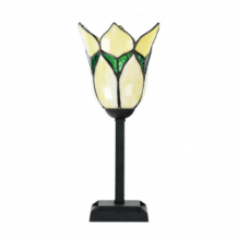 Tiffany Tischlampe Lovely Flower Yellow