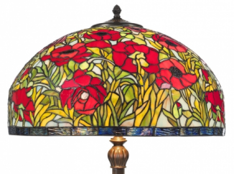 Tiffany Stehlampe Rosas 50