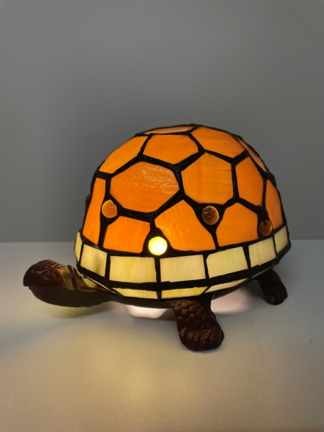 Tiffany Schildkröte Orange