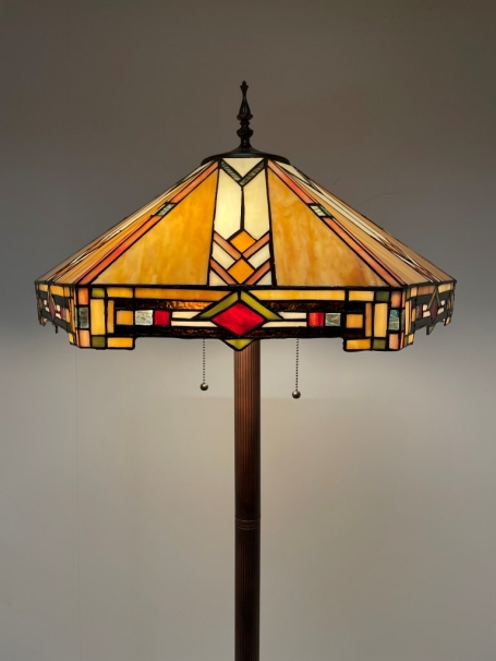 Tiffany Stehlampe Wyber Base II